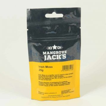 mangrove jacks irish moss