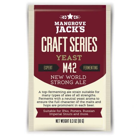 mangrove jacks m42 new world strong ale yeast