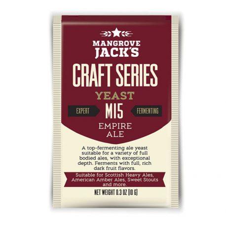 mangrove jacks M15 yeast