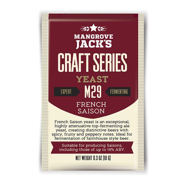 Mangrove Jacks M29 yeast