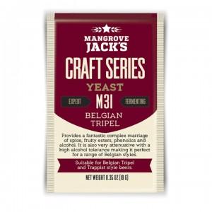 mangrove jacks M31 yeast